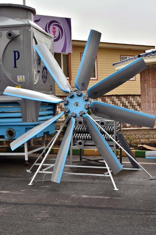 کولینگ تاور  پایاسرداب در نمایشگاه تاسیسات و سیستم های سرمایشی و گرمایشی 94 تهران چهاردهمین دوره